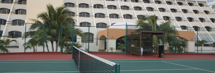 SPORT COURTS Golden Parnassus All Inclusive Resort & Spa Hotel Cancún