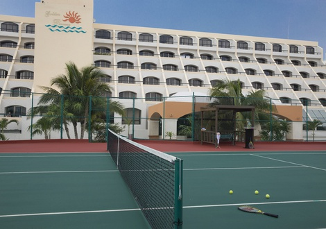 Golden Parnassus All Inclusive Resort & Spa - Tennis court Golden Parnassus All Inclusive Resort & Spa Hotel Cancún