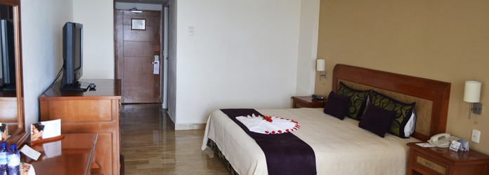 Luxury room with sea view Golden Parnassus All Inclusive Resort & Spa Hotel Cancún