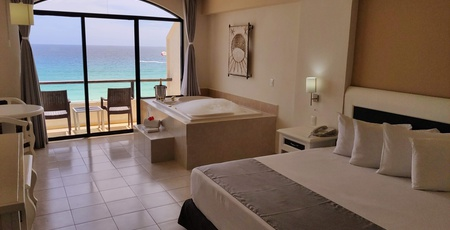 Fabulous rooms Golden Parnassus All Inclusive Resort & Spa Hotel - Cancún